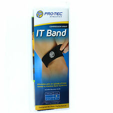 ProTec Athletics IT Band Compression Wrap Knee Strap - Iliotibial Band Syndrome