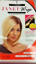 Janet Collection Synthetic Straight Beyonce Style Bob Wig -Helen wig