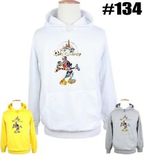 New Cute Disney Mickey Mouse Castle Design Pattern Sweatshirt Hoodie Hoody Tops