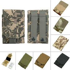 New Army Camo Bag Fr Mobile Phone Hook Loop Belt Pouch Sleeve Holster Cover Case