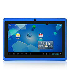 "7"" Dual Core Google Android Tablet PC 4GB A23 1.2GHz Dual Camera WiFi Touch FO"
