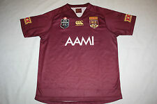 2014 QLD SOO STATE OF ORIGIN MAROONS MENS REPLICA ON FIELD JERSEY, size S-3XL