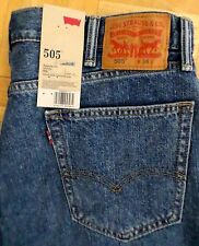 NWT $49. Levi 505 Mens  Med. Wash Five Pocket Jean Shorts NEW