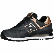 NEW BALANCE 574 SERIES WL574PMR CHARCOAL/BRONZE WOMEN SHOES ALL SIZES