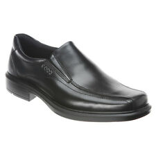 NEW - Men's ECCO Helsinki Slip On Leather Dress Shoes - Black