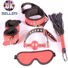 BDSM EXTREME SEXY BONDAGE RESTRAINTS GEAR KIT SYSTEM S AND M WRIST CUFFS COLLAR