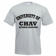 UNIVERSITY OF CHAV ANTISOCIAL DEPARTMENT - Novelty / Funny Themed Men's T-Shirt