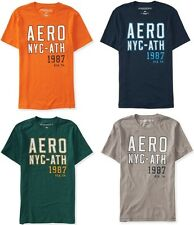 AERO Aeropostale Mens NYC-ATHLETIC T Shirt Tee  XS,S,M,L,XL,2XL,3XL  NEW NWT