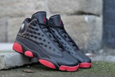 Air Jordan 13 XIII Retro BG (GS) Black Gym Red baron hologram bred 414574-033