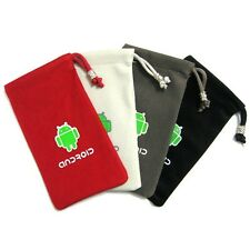 Android Phone Cloth Pouch Case For Sony Ericsson Xperia X10 Mini Pro / X10 Mini