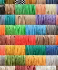 Silk Braided Vintage Fabric Coloured Lighting Cable Flex 3 core 0.5mm all styles