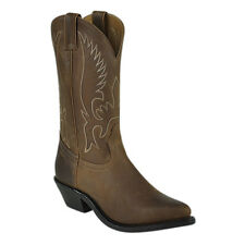 Boulet Aged Bark Rubber Sole Womens Western Boots 6730