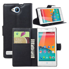 Colors wallet leather case pouch / Card Holder for ZTE BLADE G LuX / Kis 3 Max a