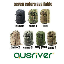 ★Outdoor Hinking Travel Tactical Backpack Army Military Bag Rucksack Camouflage★