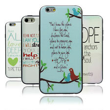 Jeremiah 29:11 Bible Verse Quote TPU Bumper Hard case For iPhone4 4S 5 5S 5c 6