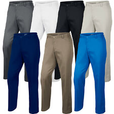 2015 Nike Dri-Fit Flat Front Funky Pants Mens Golf Trousers