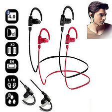 Wireless Bluetooth Sports Stereo Sweatproof Headset Headphone Earbuds Earphone