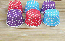 10PCS New Home Kitchen Large Anti-oil Temperature Small Paper Cups Baking Mold