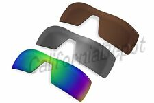 BVANQ Polarized Lenses Replacement for-Oakley Oil Rig Sunglasses-3 Colors