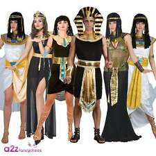 ADULT EGYPTIAN KING PHARAOH QUEEN THE NILE LADIES CLEOPATRA FANCY DRESS COSTUME