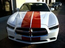 "2010 2011 2012 2013 2014 Dodge Charger 10"" Plain Rally stripes Stripe Graphics"