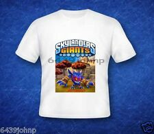 ALL NEW SKYLANDERS GIANTS CHARACTERS T SHIRT( RECENTLY RELEASED CHARACTERS)