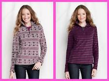 Lands' End ~ ThermaCheck®-100 Fleece Women's Half-zip Pullover $45 NIP