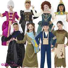 GIRLS HORRIBLE HISTORIES EGYPTIAN QUEEN BOOK DAY CHILDS KIDS FANCY DRESS COSTUME