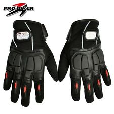 leather&Lycra racing Motorcycle Bike full finger Protective gear Racing Gloves