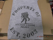 Under Armour Mens Property of Wounded Warrior Project Shirt FREE POSTAGE Heather