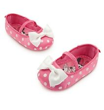 Disney Store Minnie Mouse Pink Baby Costume Shoes Size 6-12 12-18 18-24 Months