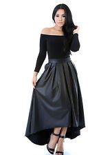 Spicy Touch Leatherette Maxi Dress Party Hot Popular Casual Fashion giti online