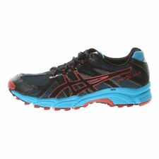 Asics Gel-Fuji Attack Running Trail Shoes Black/Onyx/Brick Red T220N - 9099