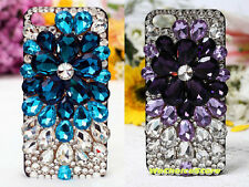 Free Phone Case & Sparkly Crystal Flower Style DIY Deco Kit For Phone Case