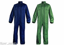 Delta Plus Panoply CO400 PVC Coated Waterproof Rainsuit Boilersuit Coveralls
