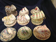 Choice of Vintage China Trios Cup Saucer Plate Weddings Tea Rooms Very Pretty