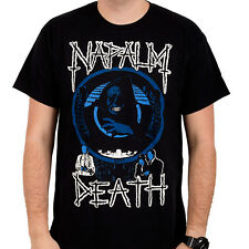 NAPALM DEATH - Life - T SHIRT S-M-L-XL-2XL Brand New - Official T Shirt
