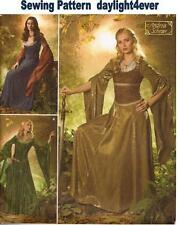 Medieval Dress Lotr Arwen Costume Sewing Pattern 4940 Simplicity NEW