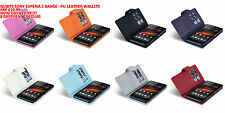 SONY EXPERIA Z PHONE CASE C6603 PU LEATHER WALLET STYLE CASE COVER BY QUBITS