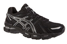 Asics Gel Kayano 19 Mens Running Shoes NEW DS Black Silver T300N 9099