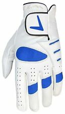 NEW MENS 100% LEATHER CABRETTA PALM GOLF GLOVE V LOGO RIGHT AND LEFT HANDED