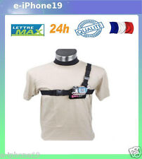 Accessoire pour GOPRO HERO 1 2 3 3+ SJCAM AEE chest harnais 3 points  harness