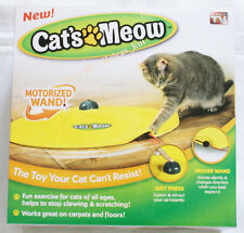 Cat Meow TV Toy Undercover Mouse Fabric Moving Electronic Fun Kitten Pet Play