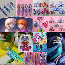 Wholesales Durable Cartoons Kids Girls Elsa Anna Great NEW Hair Clip Collections