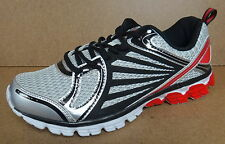 STARTER MEN'S BREATHABLE MESH RED/SILVER WELDED RUNNING SHOES ATHLETIC SNEAKERS