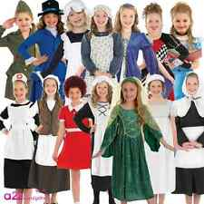 GIRLS BOOK WEEK CHARACTER TUDOR VICTORIAN ORPHAN WW2 KIDS FANCY DRESS COSTUME
