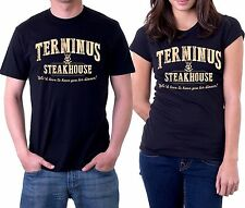 $5 new terminus steakhouse we'd love to have you for dinner walking dead t shirt