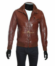 Danny Brown Men's Smart Casual Style Designer Real Soft Lambskin Leather Jacket