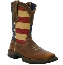 NEW Durango Boots Women's REBEL Patriotic Flag Leather Pull-On Boots RD4414