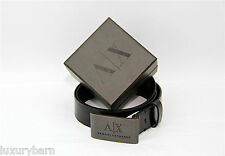 Armani Exchange A|X  Dress Belt 100% Authentic 100% Leather New made in Italy